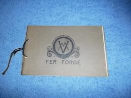 FERRONNERIE : MARCEL VASSEUR FER FORGE : Catalogue Ancien Lustres, Lampes... - Livres, BD, Revues