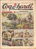 Coq Hardi Lot De 13 Revues Equivalent à L´Album N°9 Nouvelle Série Du N°105 Au N°117 De 1952 Et 1953 - Altre Riviste
