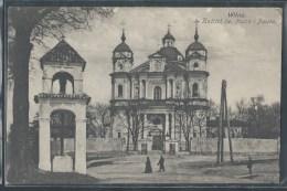 - CPA LITUANIE - Wilno, Kosciot Sw. Piotra I Pawta - Litauen