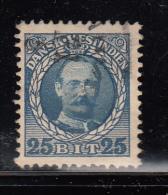 Danish West Indies Used Scott #47 25b Frederik VIII - Danemark (Antilles)