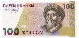 KYRGYZSTAN 100 SOM ND(1994) Pick 12 Unc - Kirgisistan