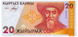 KYRGYZSTAN 20 SOM ND(1994) Pick 10 Unc - Kyrgyzstan
