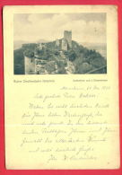162471 / The Castles Of Dahn - RUINE GRAFENDAHN ( SÜDPFALZ ) - USED 1936 Germany Deutschland Allemagne Germania - Dahn