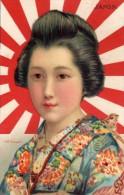 JAPON   -  Illustrateur Edith Salaman  -  Série 649 Raphael Tuck - Non Classificati