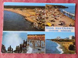 Dep 85 , Cpm Saint HILAIRE De RIEZ  , SION Sur L'OCEAN , Multivues , V.678  (073) - Saint Hilaire De Riez