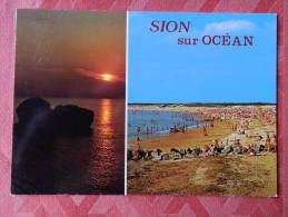 Dep 85 , Cpm Saint HILAIRE De RIEZ  , SION Sur L'OCEAN , Multivues , V690 (083) - Saint Hilaire De Riez
