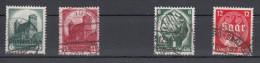 Deutsches Reich -  Mi. 546/547 - 544/545 (o) - Usados