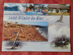 Dep 85 , Cpm Saint HILAIRE De RIEZ  , Multivues , Photos Pierre Morisan Et DR  (093) - Saint Hilaire De Riez