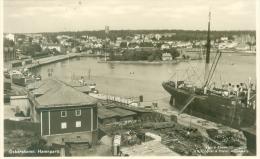 Sweden Abt 1960: Oskarshamn - Parti Af Hamnen (Harbour), Circulated With Stamp. - Zweden