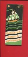 PARIS MAGASINS REUNIS MONTPARNASSE CALENDRIER POCHE 12 PAGES 1935 VOILIER - Calendari