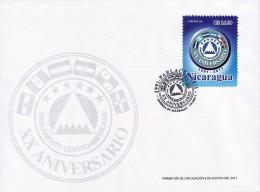 NICARAGUA CENTRAL AMERICAN PARLIAMENT Sc 2521 FDC 2011 - Nicaragua