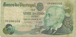 REPUBLICA DE PORTUGAL 1978  20 ESCUDOS  1978   NL392 - Portugal