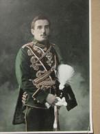 Prince Héritier Alexandre De Serbie-MILITARIA->Reproduction Gravure Personnage Historique PORTANT MEDAILLE HONORIFIQUE - Autres