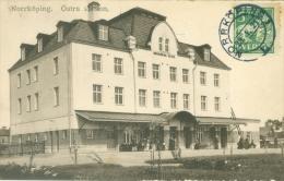 Sweden 1921: Norrköping - Östra Station, Circulated With Stamp. - Zweden