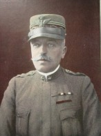 Général CARDONA    -MILITARIA->Reproduction Gravure Personnage Historique PORTANT MEDAILLE HONORIFIQUE - Autres