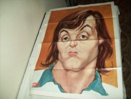 """Poster """"Adriano Panatta"""" - Tennis"""