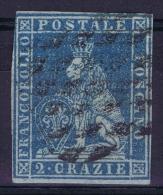Toscana Sa Nr 5 Azzuro  Yv Nr 5  Used 1851