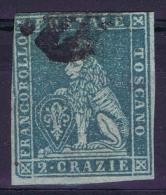 Toscana Sa Nr 5 Grey Blue  Yv Nr 5  Used 1851