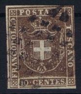 Toscana Sa Nr 19  Yv Nr 19  Used 1880
