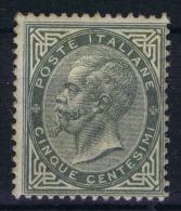 Italy Sa Nr 16, Yv Nr 14 Very Light Hinged, /*   Signed/ Signé/signiert/ Approvato BRUN - 1861-78 Victor Emmanuel II.