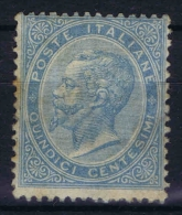 Italy Sa Nr 18, Yv Nr 17 MH/* Has Some Spots In Gum - 1861-78 Victor Emmanuel II.