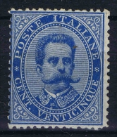 Italy Sa Nr 40 , Yv Nr 36  MH/*  Signed/ Signé/signiert/ Approvato2 X
