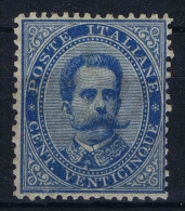 Italy Sa Nr 40 , Yv Nr 36  MH/*   Signed/ Signé/signiert/ Approvato BRUN