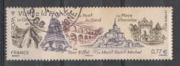 Francia   -   2012.  Visitez La France: Cirque Du Mafate, Tour Eiffe, St Michel, Pont Du Gard, Place Stanislas - Vakantie & Toerisme