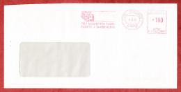 Brief, Francotyp-Postalia B24-9957, Fuji Magnetics, 100 Pfg, Kleve 1991 (74083) - Briefe U. Dokumente