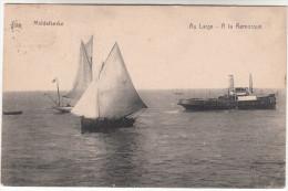 Middelkerke, Au Large A La Remorque, Sleepboot, Tug Boat, Remorqueur (pk16015) - Middelkerke