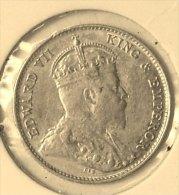 @Y@   Ceylon 10 Cents  1907    ( 2858 ) - Sri Lanka