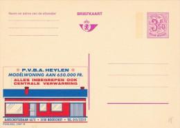 22567 - Entier Postal - Carte Publibel N° 2567 N - P.v.b.a. Heylen Chauffage Central - Voir Photo Pour Détails - Publibels