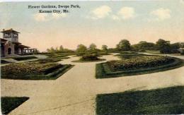 Flower Gardens - Swopw Park - Kansas City - Mo - Formato Piccolo Viaggiata - Australia