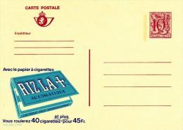 22789bis - Entier Postal - Carte Publibel N° 2789 F - Rizla + Papier à Cigarettes - Voir Photo Pour Détails - Publibels