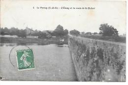 LE PERRAY - L'Etang Et La Route De St Hubert - Le Perray En Yvelines