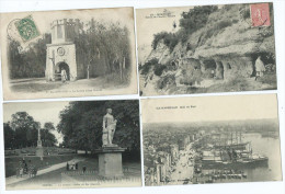 "Lot De 500 Cpa  """" Vue ,mer, Montagne ,ville ,campagne, Chateau - 500 Postkaarten Min."
