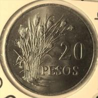 @Y@    Guinea Bissau  20  Pesos  1977   FAO   Unc   ( 2864 ) - Guinea Bissau