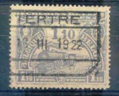 K557 Belgie Spoorwegen Met Stempel TERTRE - 1915-1921