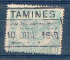 K566 Belgie Spoorwegen Met Stempel TAMINES - Chemins De Fer
