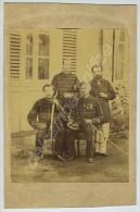 Photo De Groupe 1870-80. Chasseurs ? Crimée. - Oorlog, Militair
