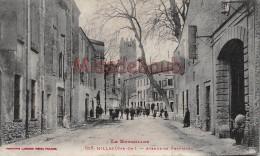 66 - MILLAS - Avenue De Perpignan - écrite 1907  - 2 Scans - Francia