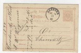 Deutsches Reich Ganzsache P 1 , P5 gebraucht