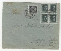 Deutsches Reich Michel No. 512 , 646 auf Brief