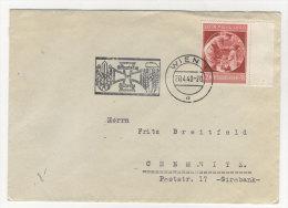 Deutsches Reich Michel No. 744 auf Brief