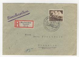 Deutsches Reich Michel No. 815 auf Brief