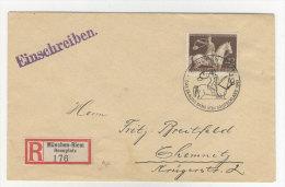 Deutsches Reich Michel No. 854 auf Brief