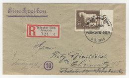 Deutsches Reich Michel No. 899 auf Brief