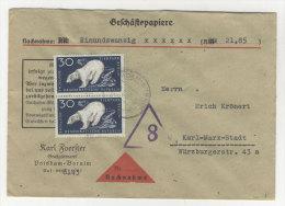 DDR Michel No. 556 auf Brief MeF