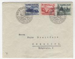 Deutsches Reich No. 686 - 688 auf Brief