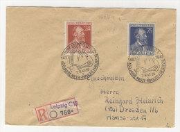 Gemeinschaftsausgaben Michel No. 963 - 964 auf Brief